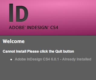 Can't update