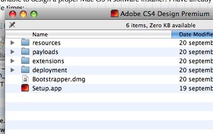 CS4 Installer CD folder