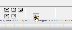 Disappearing Align buttons in Control bar