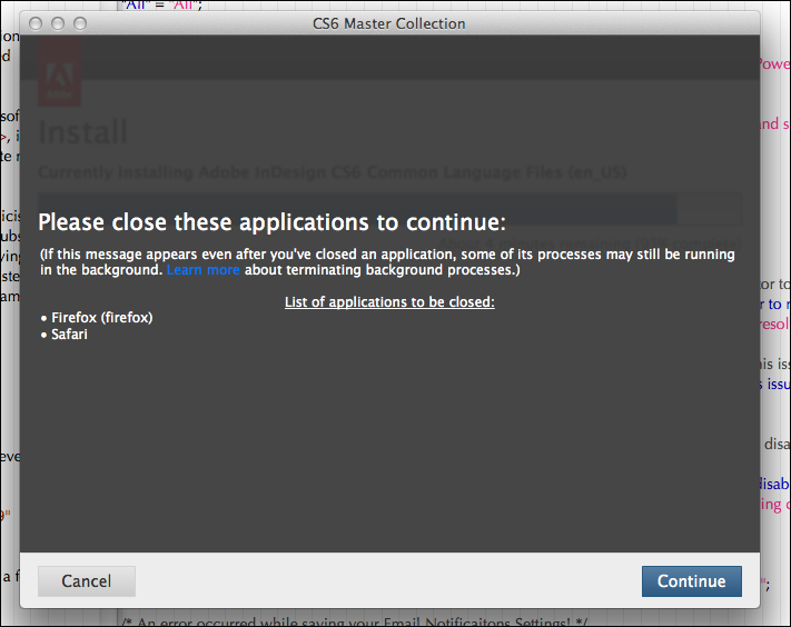 Adobe cs5 master collection install
