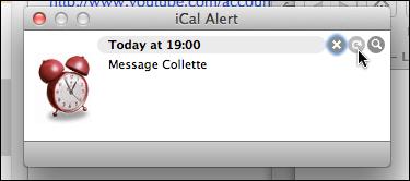 Repeat Alert button