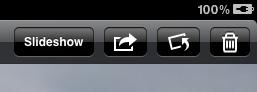iPad Photos Rotate