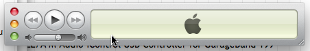 Minimized iTunes