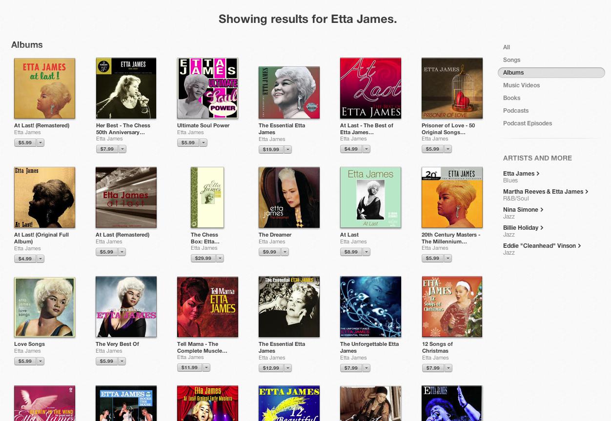 itunes11-ettajames2 - albums