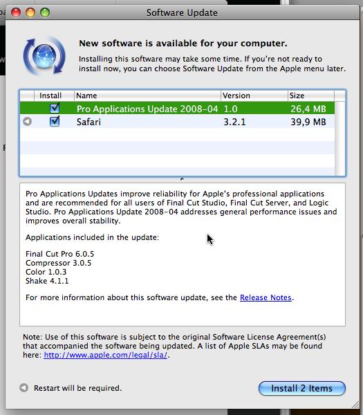 Betalogue » Pro Applications Update 2008-04: Making things