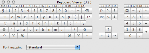 Betalogue Mac OS X Snow Leopard How To Fix The Cycle - Us keyboard map