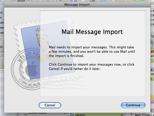 Mail - Reimport messages