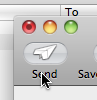 Mail - Send button