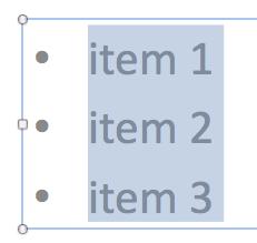how to change spacing between bullets in word 2010