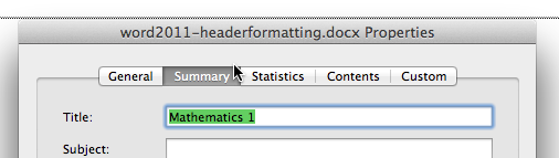 word2011-headerformatting4