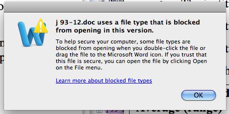 Word 5 file dialog