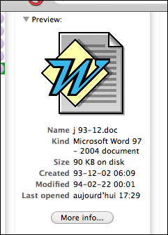 Word 5 file
