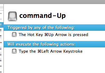 command-Up