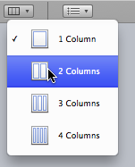 Columns tool