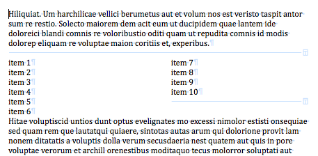 how to change layout to two columns in word
