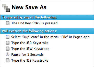 New Save As macro with KM