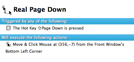 Real Page Down