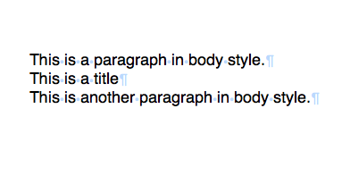 Paragraphs without trailing spaces
