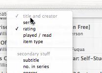 Delicious Library-TitleandCreator